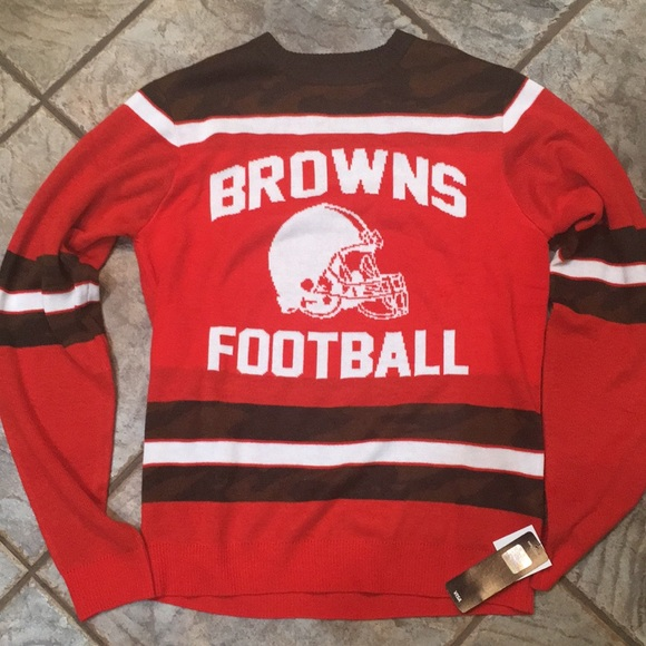 Cleveland Browns Christmas Sweater.Cleveland Browns Christmas Sweater Nfl Nwt